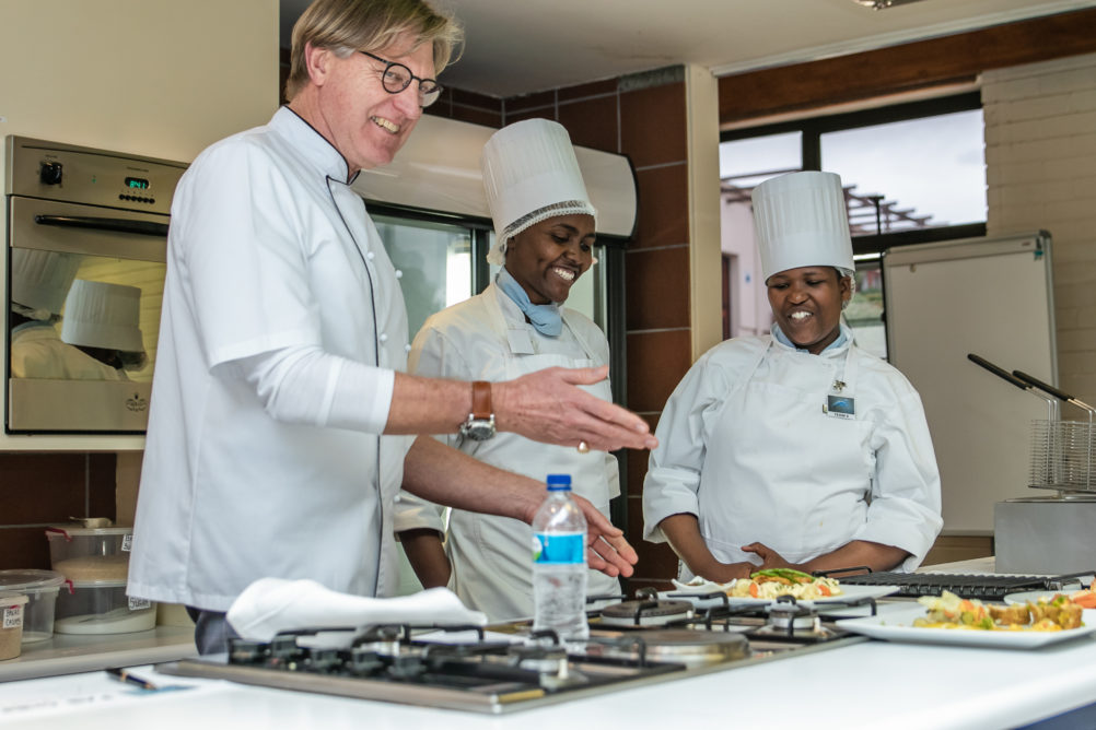 Fab Chef Competition 2018 SA College for Tourism