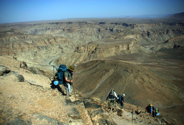 Fish River Canyon Hike