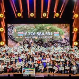 Dutch Postcode Lottery donates more than € 376 million for a better world