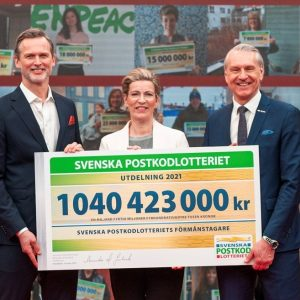 10 years of continued support from Swedish Postcode Lottery