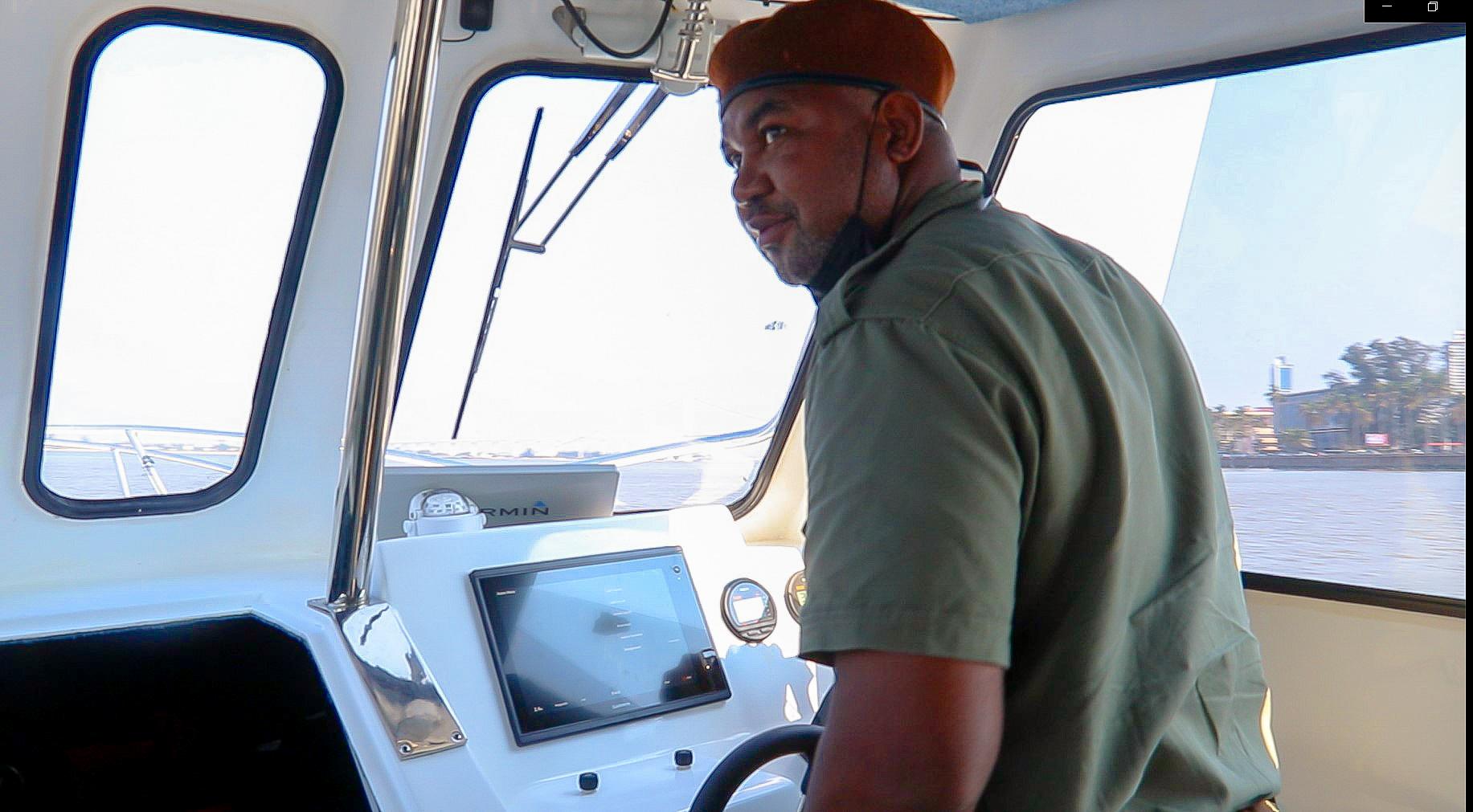 ranger on boat